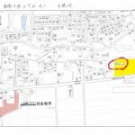 菊陽中部小学校近く 分譲地 現地案内図